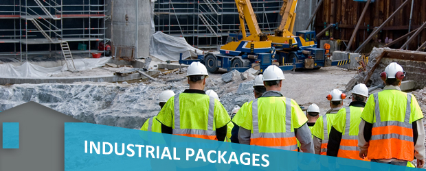 industrial packages banner