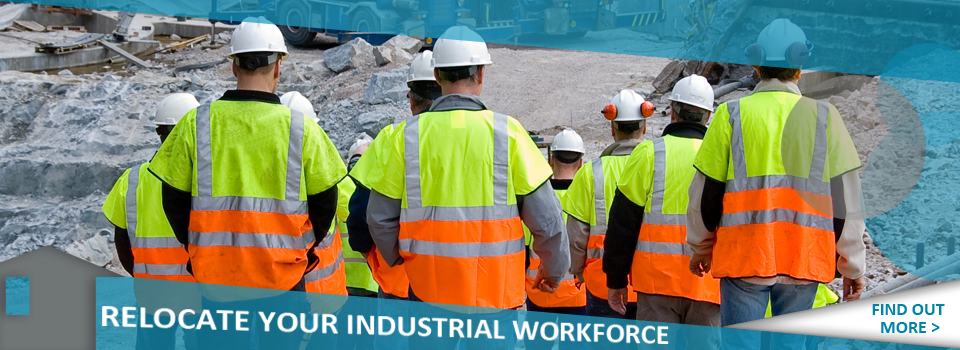 Industrial relocation banner