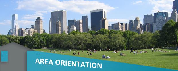 area orientation banner