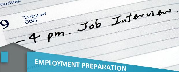 employment preparation banner