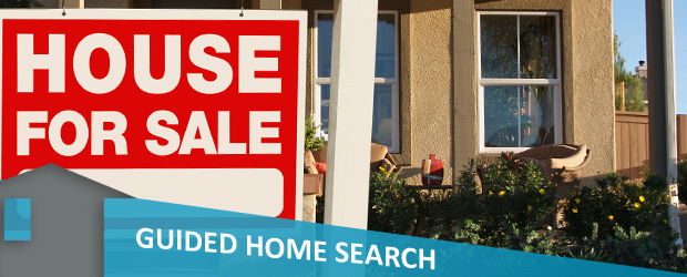 guided home search banner