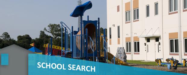 school search banner